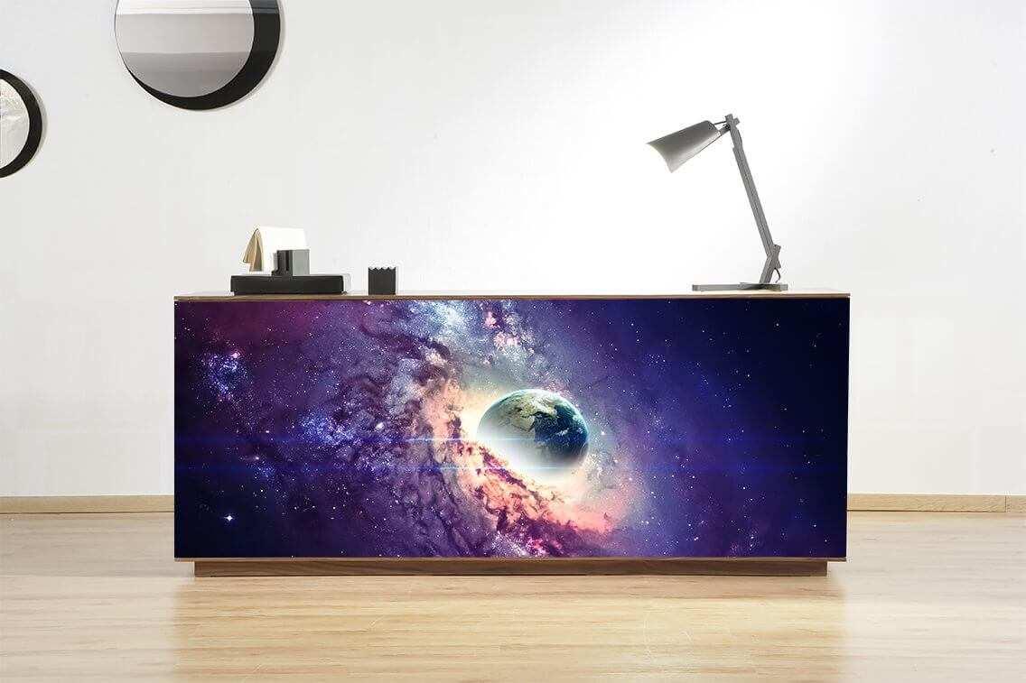 Vinilo Decorativo Mueble Galaxia   Carteles XXL - Impresión carteleria publicitaria