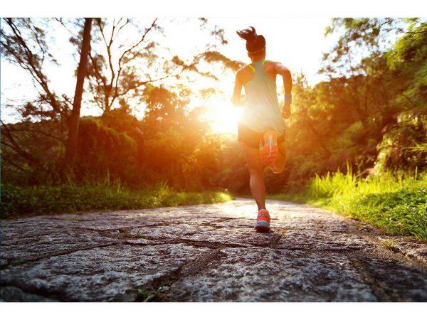 Fotomural Vinilo Running Camino de Piedra Naturaleza | Carteles XXL - Impresión carteleria publicitaria