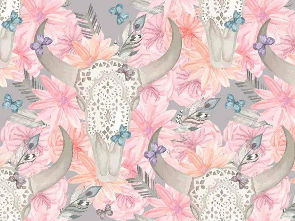 Alfombra PVC Arte Floral Africano | Carteles XXL - Impresión carteleria publicitaria