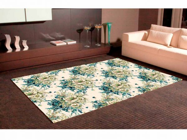 Alfombra PVC Clásico Estampado Floral | Carteles XXL - Impresión carteleria publicitaria