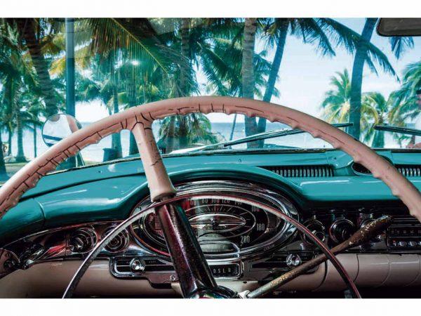 Fotomural Papel Pintado Coche Cuba | Carteles XXL - Impresión carteleria publicitaria