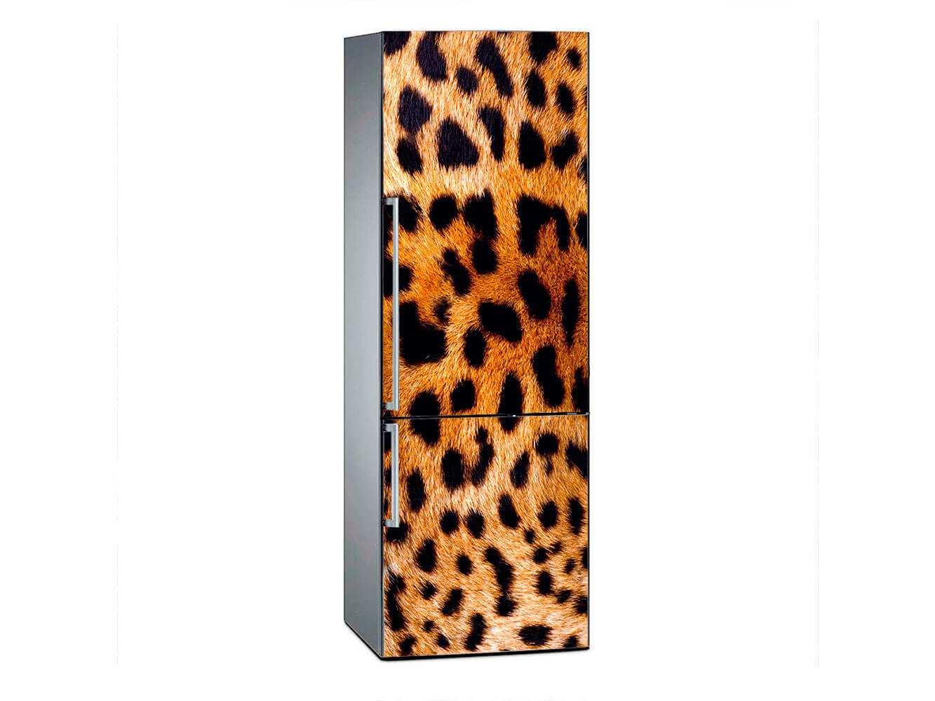 Vinilo Frigorífico Textura Leopardo | Carteles XXL - Impresión carteleria publicitaria