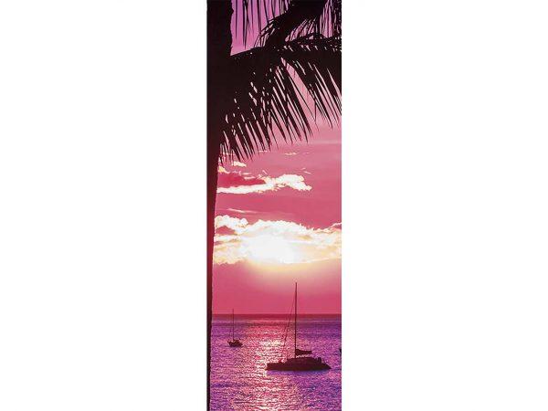 Cenefa Vertical Barcos en el Mar | Carteles XXL - Impresión carteleria publicitaria