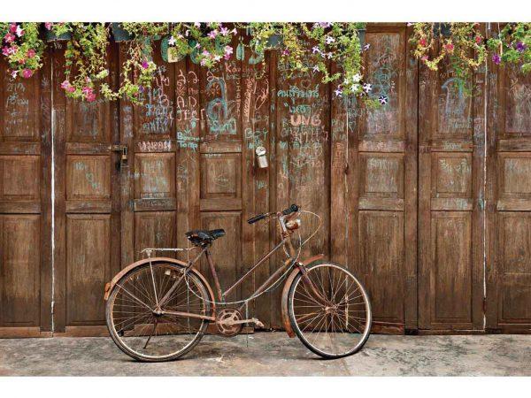 Fotomural Papel Pintado Bicicleta Vintage | Carteles XXL - Impresión carteleria publicitaria