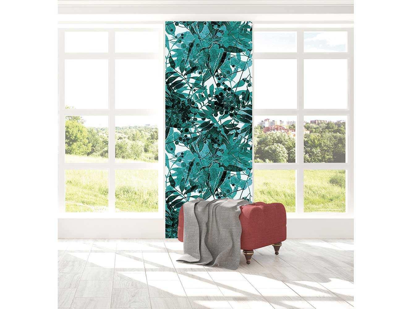 Cenefa Vertical Vegetación Tropical   Carteles XXL - Impresión carteleria publicitaria