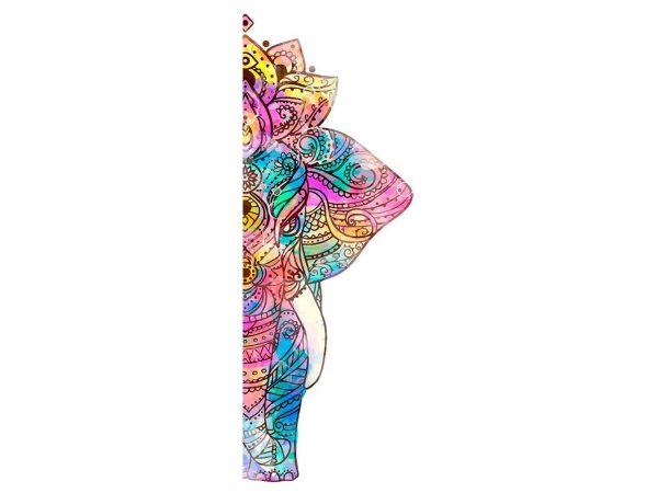 Vinilo Frigorífico Elefante Mandala | Carteles XXL - Impresión carteleria publicitaria