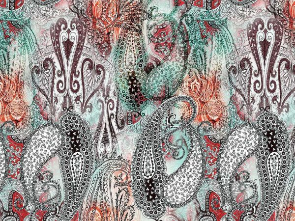 Fotomural Papel Pintado Floral Vegetacion Exotica | Carteles XXL - Impresión carteleria publicitaria