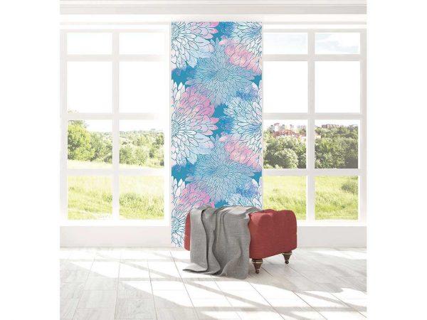 Cenefa Vertical Motivo Floral | Carteles XXL - Impresión carteleria publicitaria