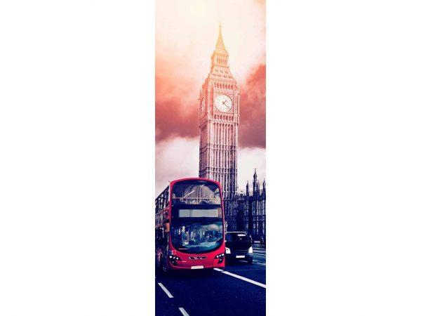 Vinilo Frigorífico Autobús Big Ben | Carteles XXL - Impresión carteleria publicitaria