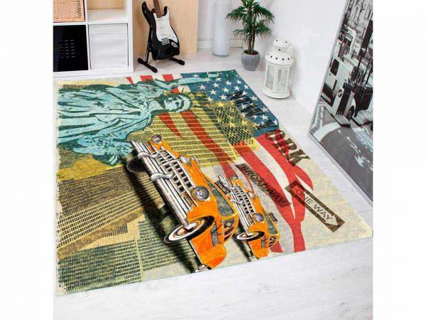 Alfombra PVC Estatua Libertad USA | Carteles XXL - Impresión carteleria publicitaria