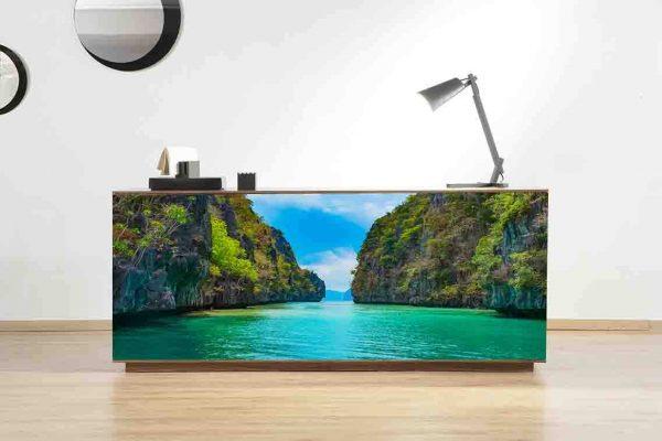 Vinilo Decorativo Mueble Mar | Carteles XXL - Impresión carteleria publicitaria