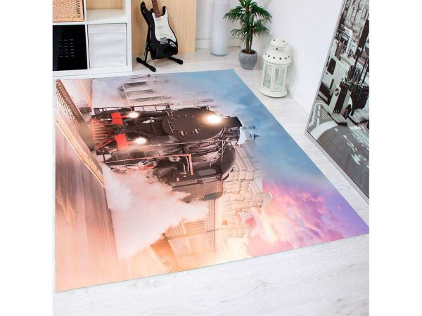 Alfombra PVC Locomotora | Carteles XXL - Impresión carteleria publicitaria