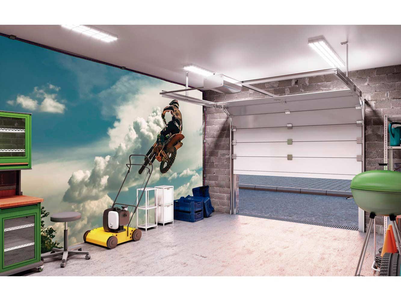 Fotomural Papel Pintado Salto Motocross 2 | Carteles XXL - Impresión carteleria publicitaria