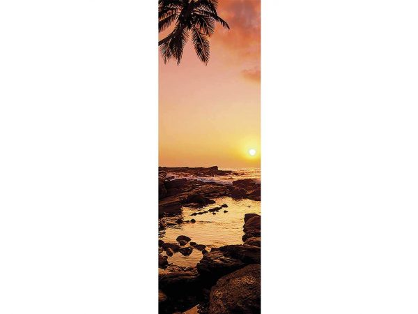 Cenefa Vertical Playa Rocosa   Carteles XXL - Impresión carteleria publicitaria
