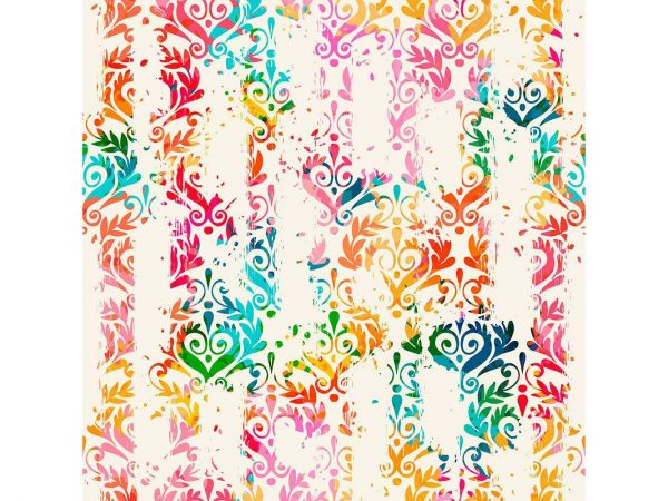 Fotomural Vinilo Zen Corazones Multicolor | Carteles XXL - Impresión carteleria publicitaria