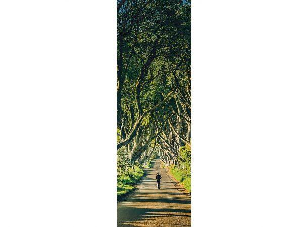 Cenefa Vertical Camino Frondoso | Carteles XXL - Impresión carteleria publicitaria