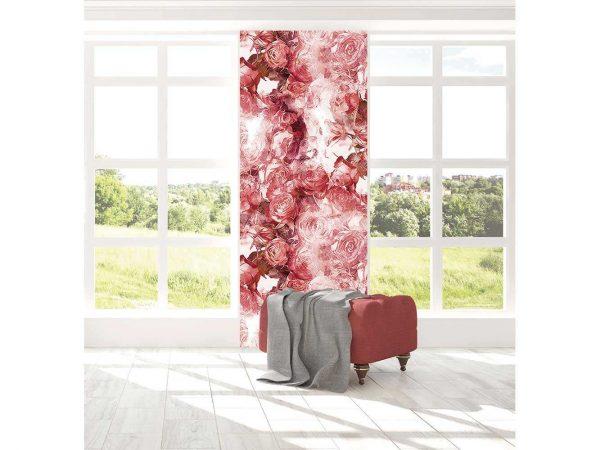 Cenefa Vertical Rosas Estampadas | Carteles XXL - Impresión carteleria publicitaria