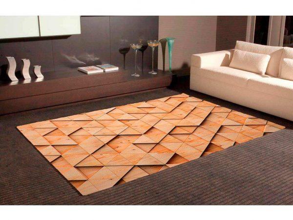 Alfombra PVC Estilo Madera 3D | Carteles XXL - Impresión carteleria publicitaria