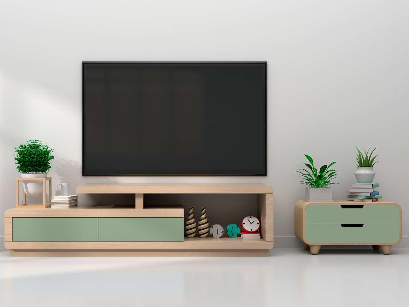 Vinilo Decorativo Mueble Verde Claro | Carteles XXL - Impresión carteleria publicitaria