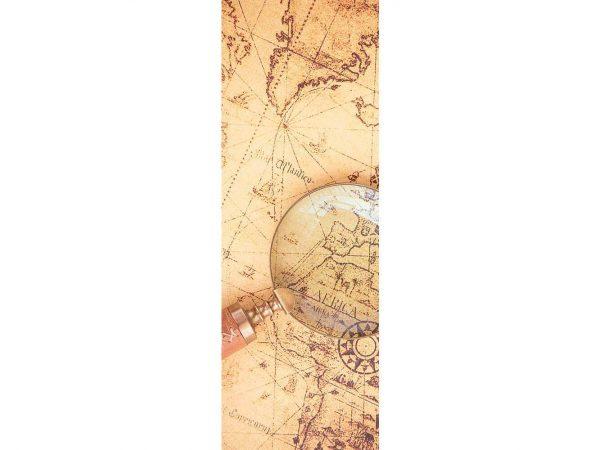 Vinilo Frigorífico Mapamundi Antiguo | Carteles XXL - Impresión carteleria publicitaria