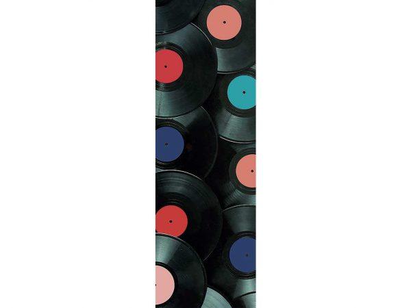 Cenefa Vertical Discos de Vinilo | Carteles XXL - Impresión carteleria publicitaria