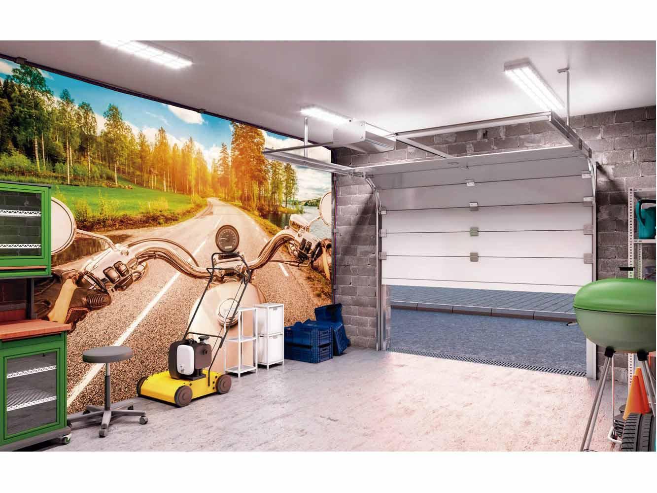 Fotomural Papel Pintado Viaje en Moto | Carteles XXL - Impresión carteleria publicitaria
