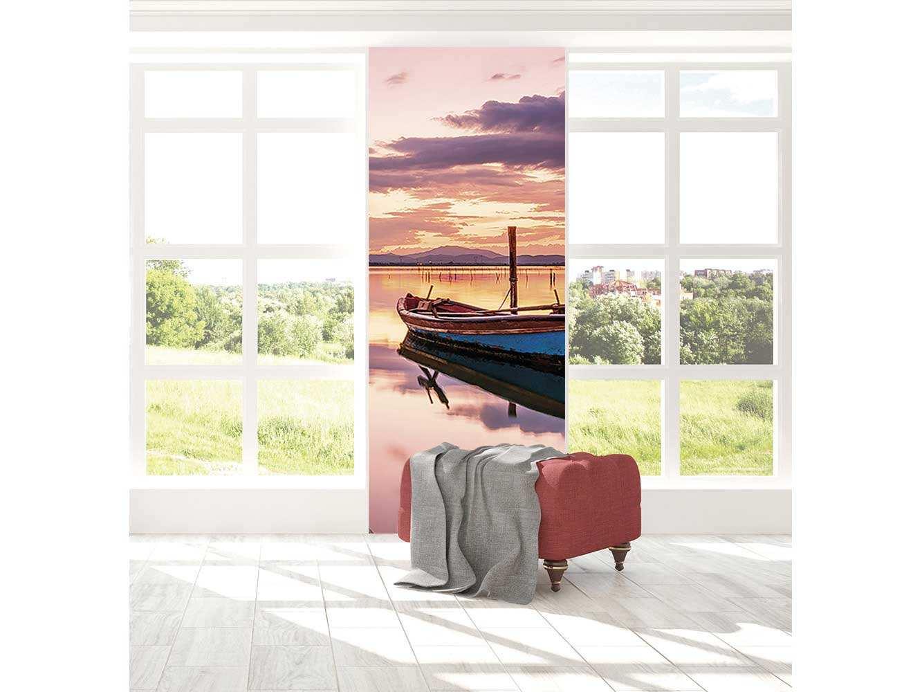 Cenefa Vertical Barco Antiguo | Carteles XXL - Impresión carteleria publicitaria