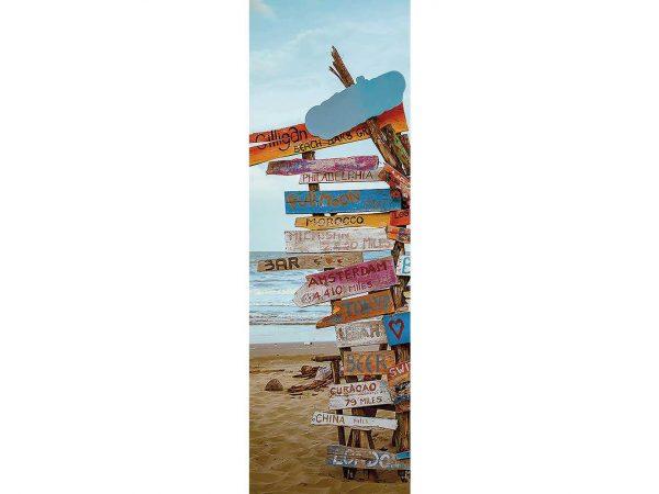 Cenefa Vertical Señales Playa   Carteles XXL - Impresión carteleria publicitaria