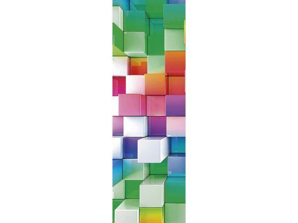 Cenefa Vertical Cuadrados 3D | Carteles XXL - Impresión carteleria publicitaria