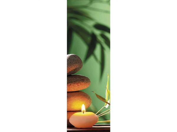 Cenefa Vertical Piedras Zen | Carteles XXL - Impresión carteleria publicitaria