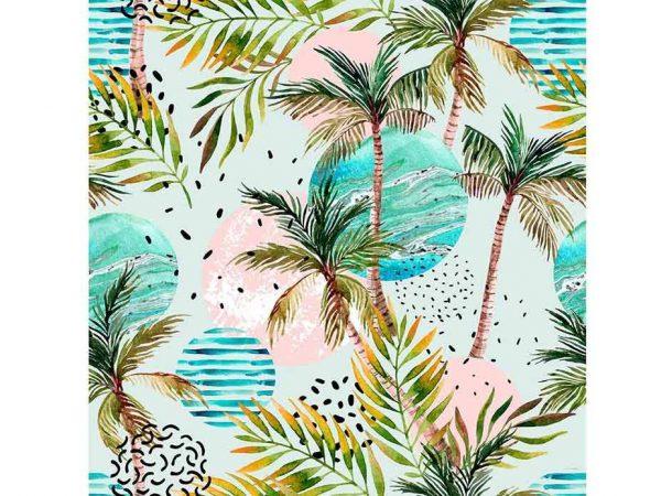 Alfombra PVC Palmeras Hawai | Carteles XXL - Impresión carteleria publicitaria