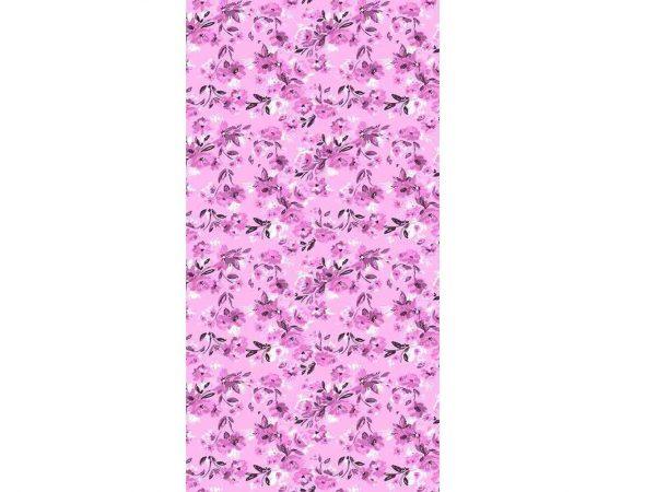 Cenefa Vertical Flores Rosa | Carteles XXL - Impresión carteleria publicitaria