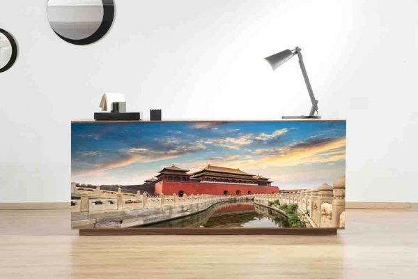 Vinilo Decorativo Mueble Oriental | Carteles XXL - Impresión carteleria publicitaria