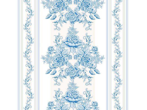 Cabecero Cama Abstracción Vegetal Azul | Carteles XXL - Impresión carteleria publicitaria