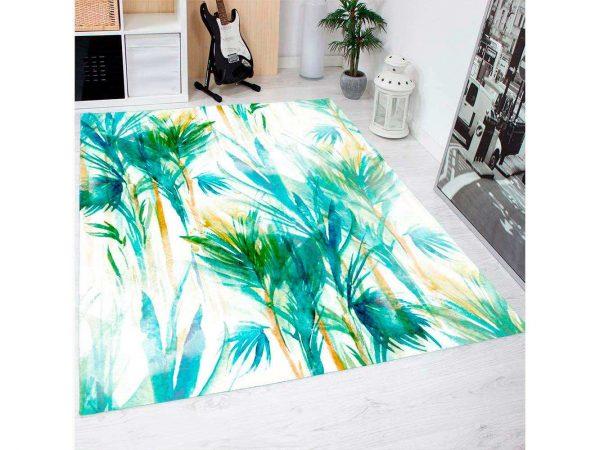 Alfombra PVC Plantas Abstractas | Carteles XXL - Impresión carteleria publicitaria