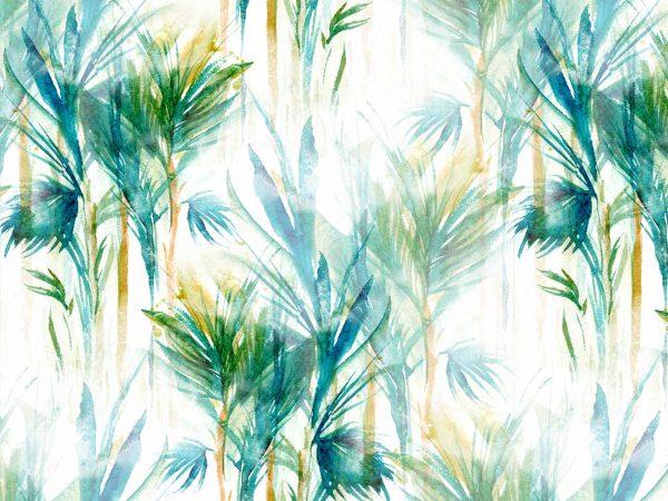 Fotomural Vinilo Floral Palmeras Verdes | Carteles XXL - Impresión carteleria publicitaria