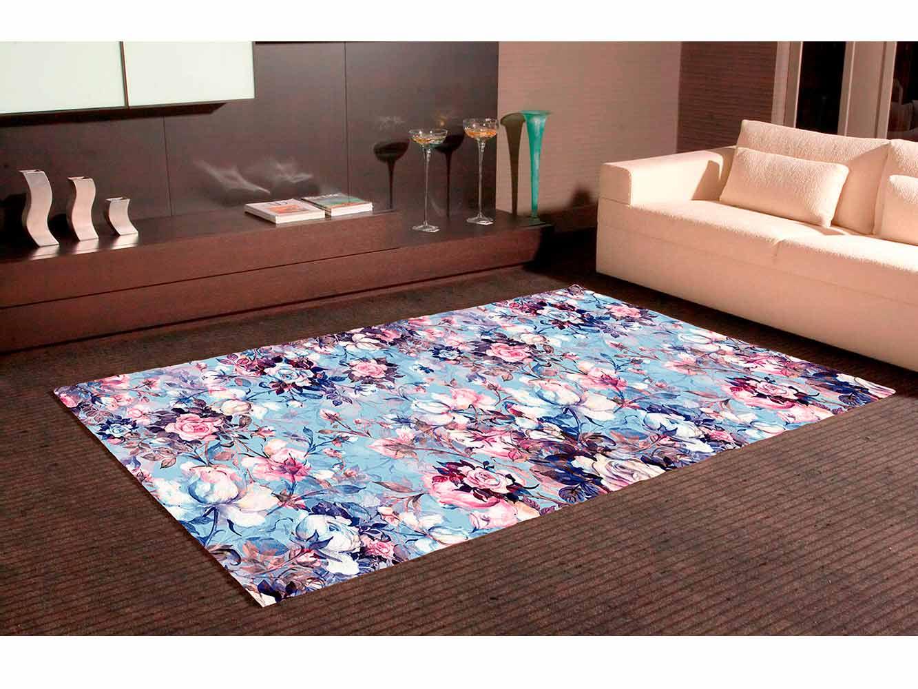 Alfombra PVC Estampado Floral Tipo Óleo | Carteles XXL - Impresión carteleria publicitaria