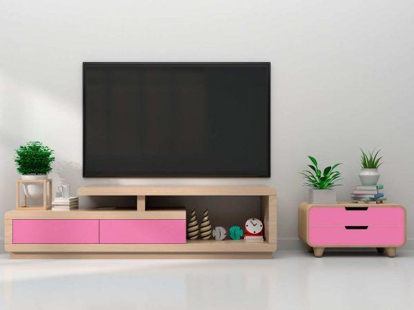 Vinilo Decorativo Mueble Rosa | Carteles XXL - Impresión carteleria publicitaria