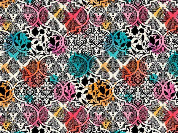 Alfombra PVC Estampado Moderno Multicolor | Carteles XXL - Impresión carteleria publicitaria