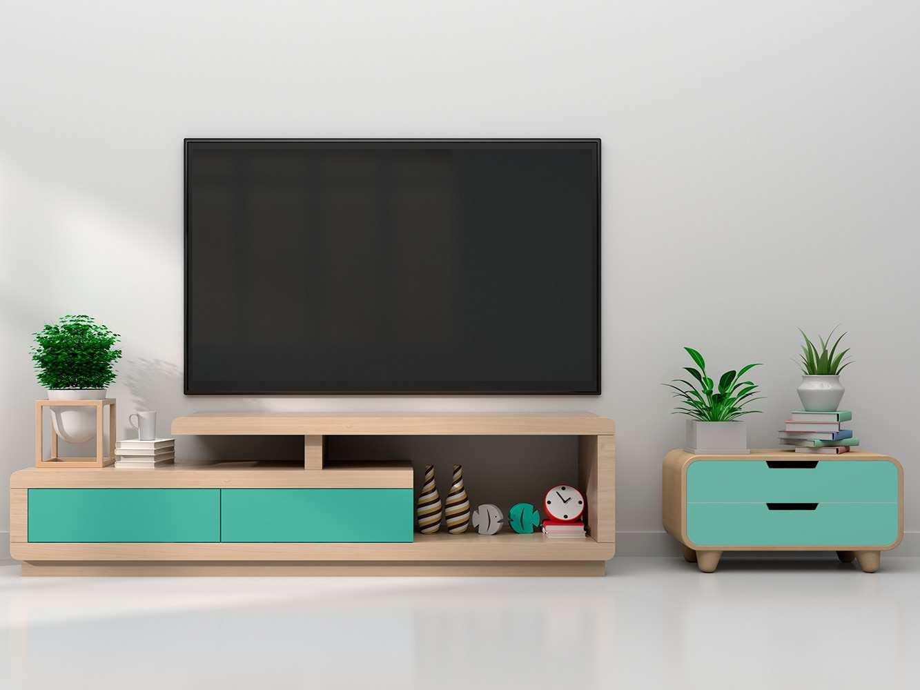 Vinilo Decorativo Mueble Azul Tiffany | Carteles XXL - Impresión carteleria publicitaria