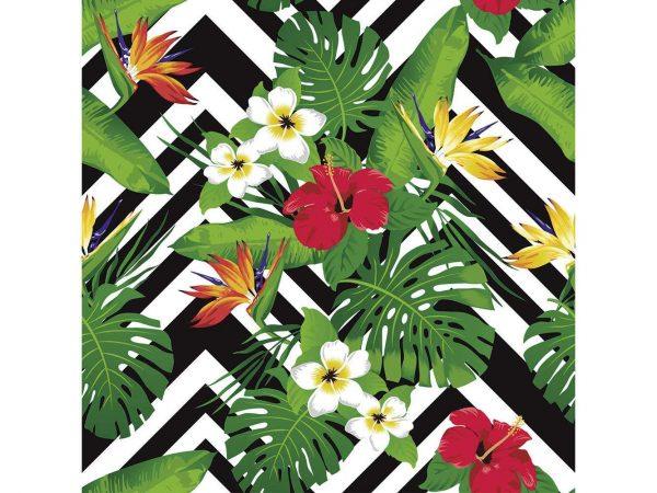 Fotomural Vinilo Flores Silvestres Coloridas   Carteles XXL - Impresión carteleria publicitaria