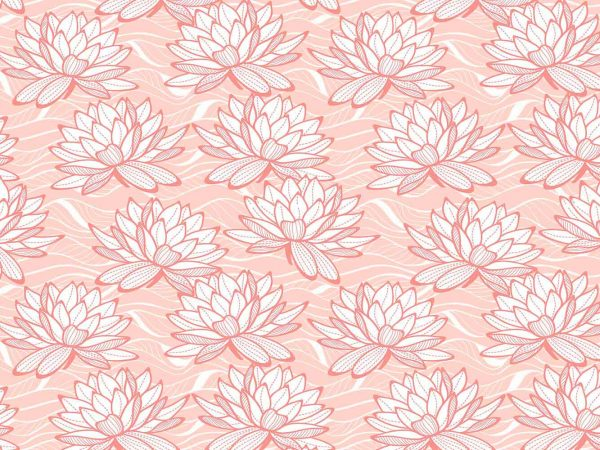 Alfombra PVC Flor De Loto Rosa | Carteles XXL - Impresión carteleria publicitaria