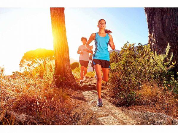 Fotomural Vinilo Running en la Naturaleza | Carteles XXL - Impresión carteleria publicitaria