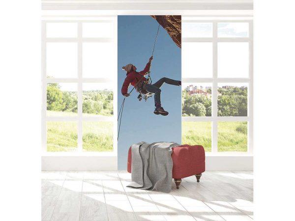 Cenefa Vertical Escalada Montaña | Carteles XXL - Impresión carteleria publicitaria