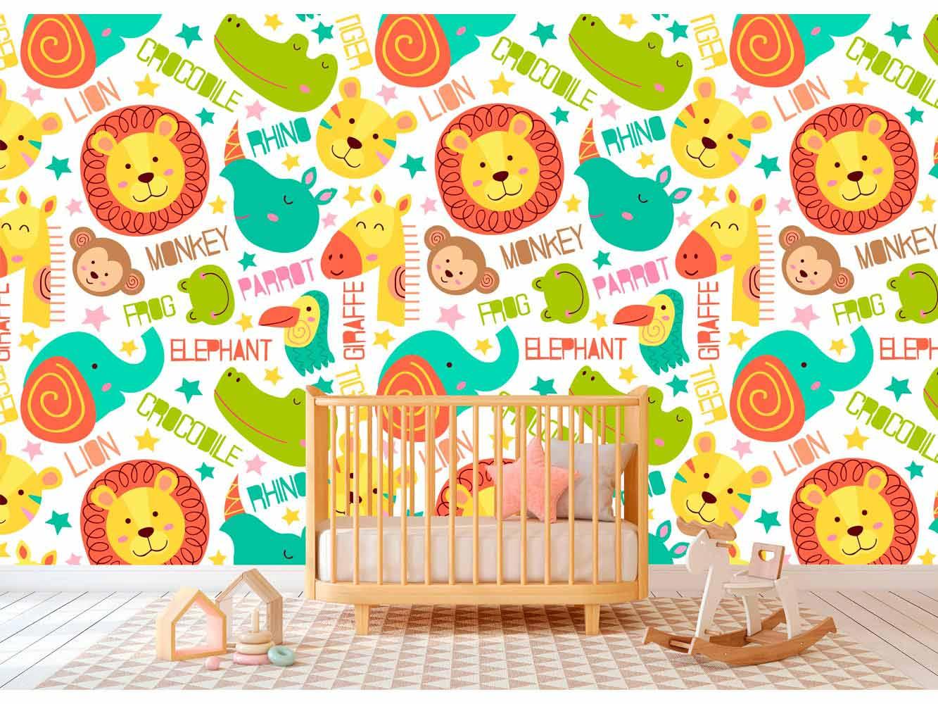 Fotomural Papel Pintado Animales Infantil | Carteles XXL - Impresión carteleria publicitaria