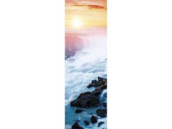 Cenefa Vertical Cascada Paradisíaca | Carteles XXL - Impresión carteleria publicitaria