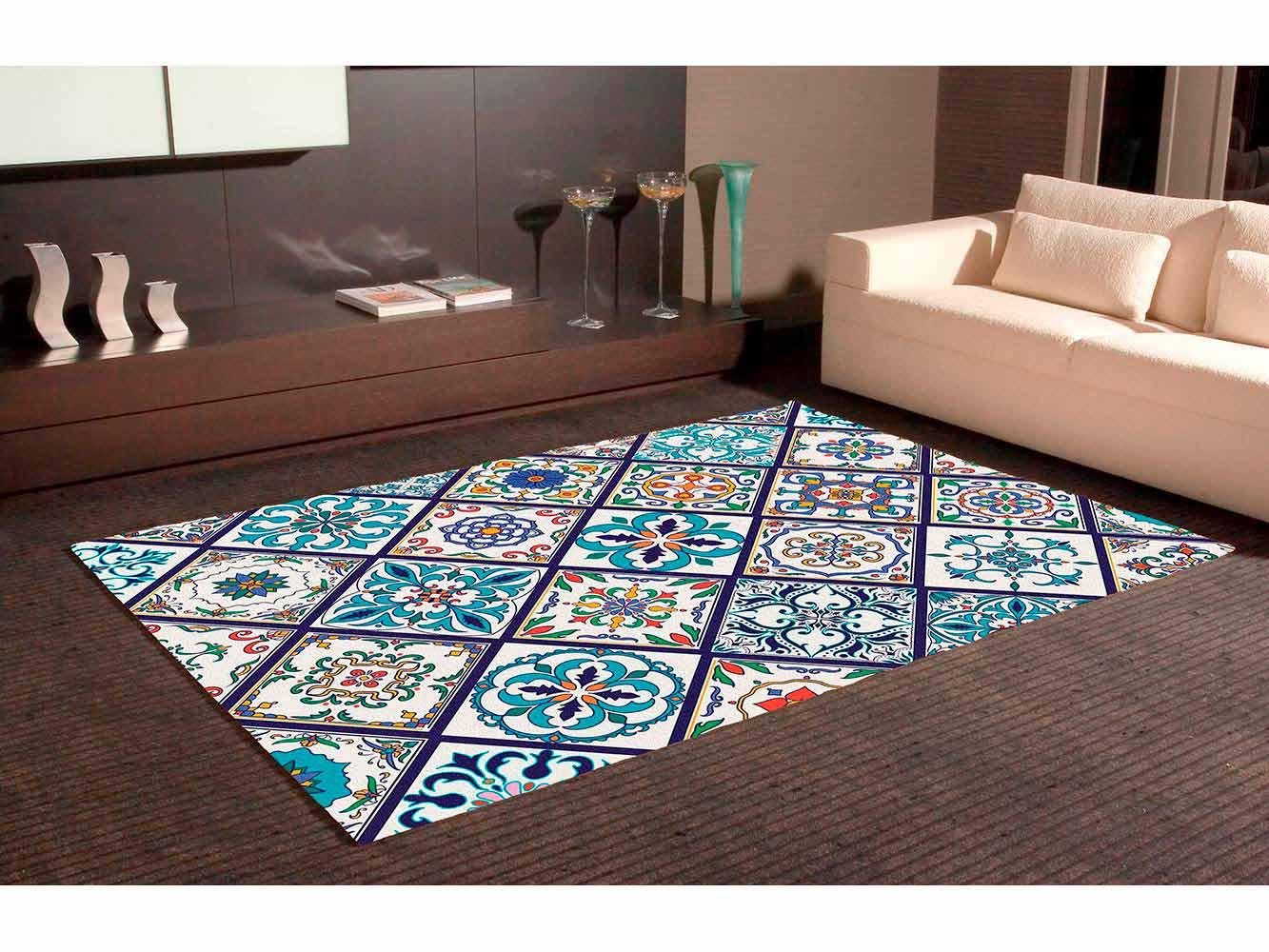 Alfombra PVC Mosaico Tipo Azulejo | Carteles XXL - Impresión carteleria publicitaria