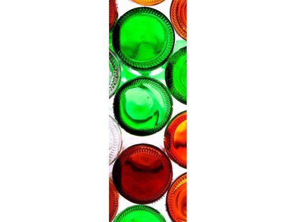Vinilo Frigorífico Botellas Cristal | Carteles XXL - Impresión carteleria publicitaria
