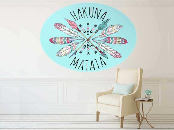 Vinilo Decorativo Hakuna Matata   Carteles XXL - Impresión carteleria publicitaria