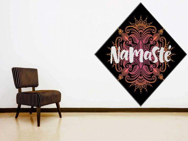 Vinilo Decorativo Namaste | Carteles XXL - Impresión carteleria publicitaria